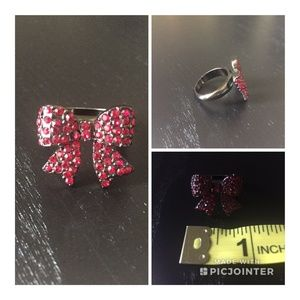 Jewelry - 🛍 Red Stone Bow Ring